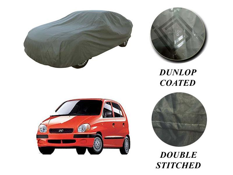 PVC Coated Double Stitched Top Cover For Hyundai Santro Executive Image-1