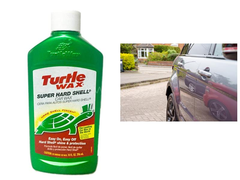 Turtle Wax Super Hard Shell Car Liquid Wax 297ml Image-1