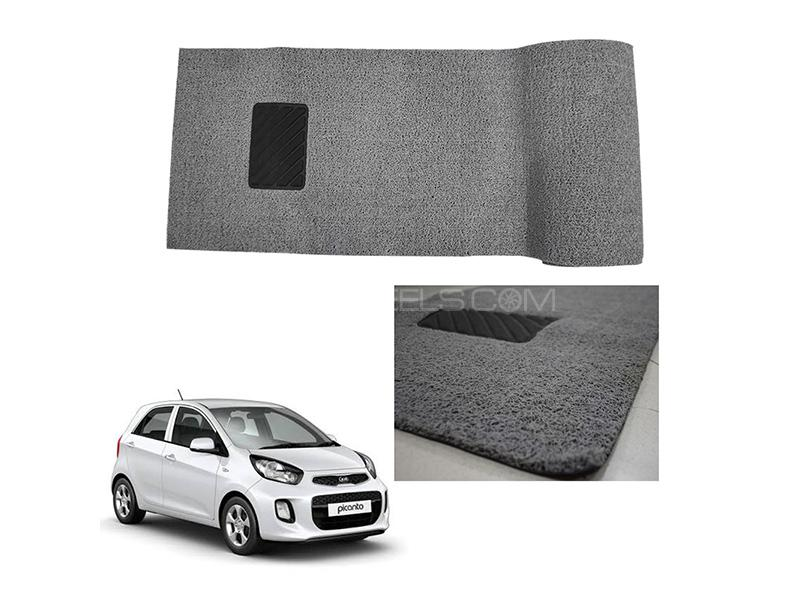 KIA Picanto Grass Floor Matt - Grey  in Karachi