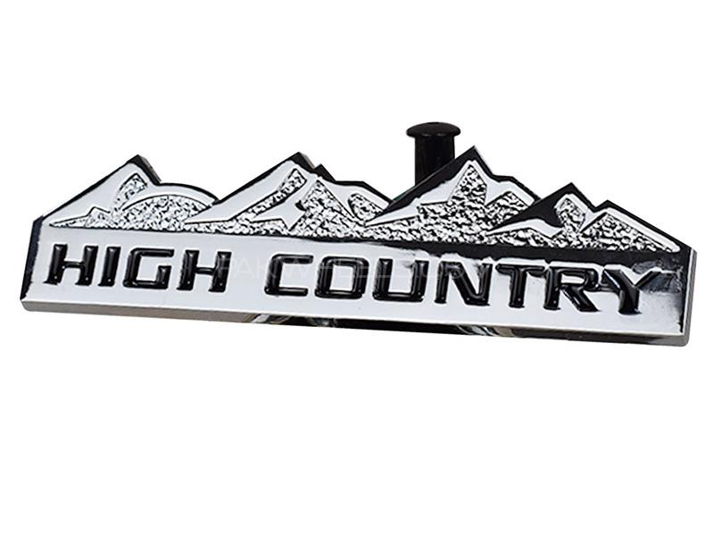 High Country Logo - Silver Image-1