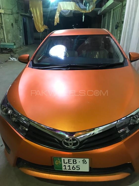 Toyota Corolla - 2016  Image-1