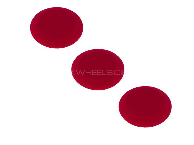 "3D Applicator Red Foam 4.5""x1"" Tapered Edge - 3 Pcs Image-1"