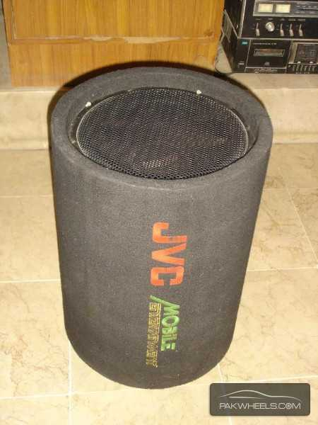 "J.V.C Earthquake 12"" 1000W Bass Tube Enclosure Subwoofer USA Image-2"