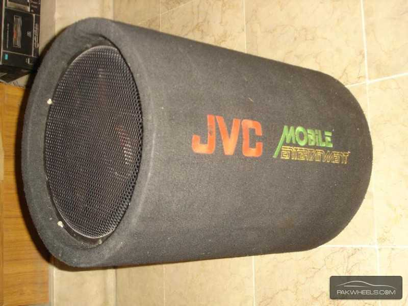 "J.V.C Earthquake 12"" 1000W Bass Tube Enclosure Subwoofer USA Image-4"