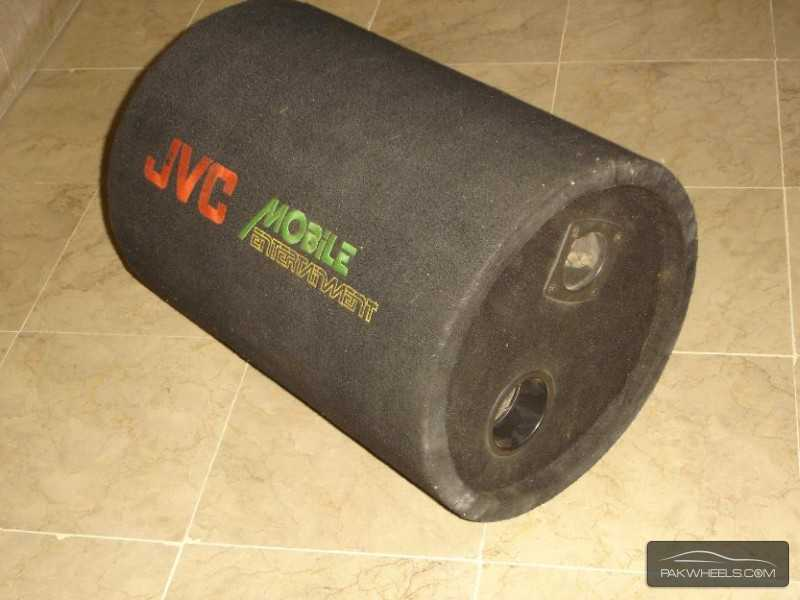 "J.V.C Earthquake 12"" 1000W Bass Tube Enclosure Subwoofer USA Image-5"