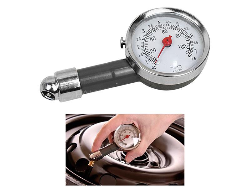 Tire Pressue Gauge 110 PSI Image-1