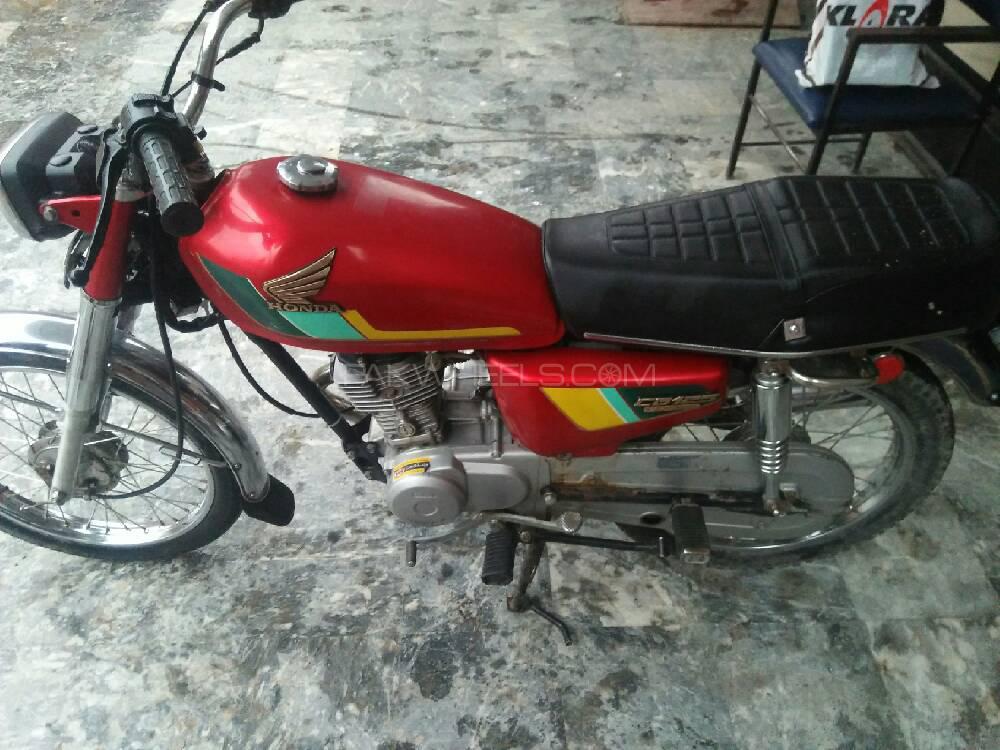 Honda CG 125 - 1998 Muhammad Qasim Image-1