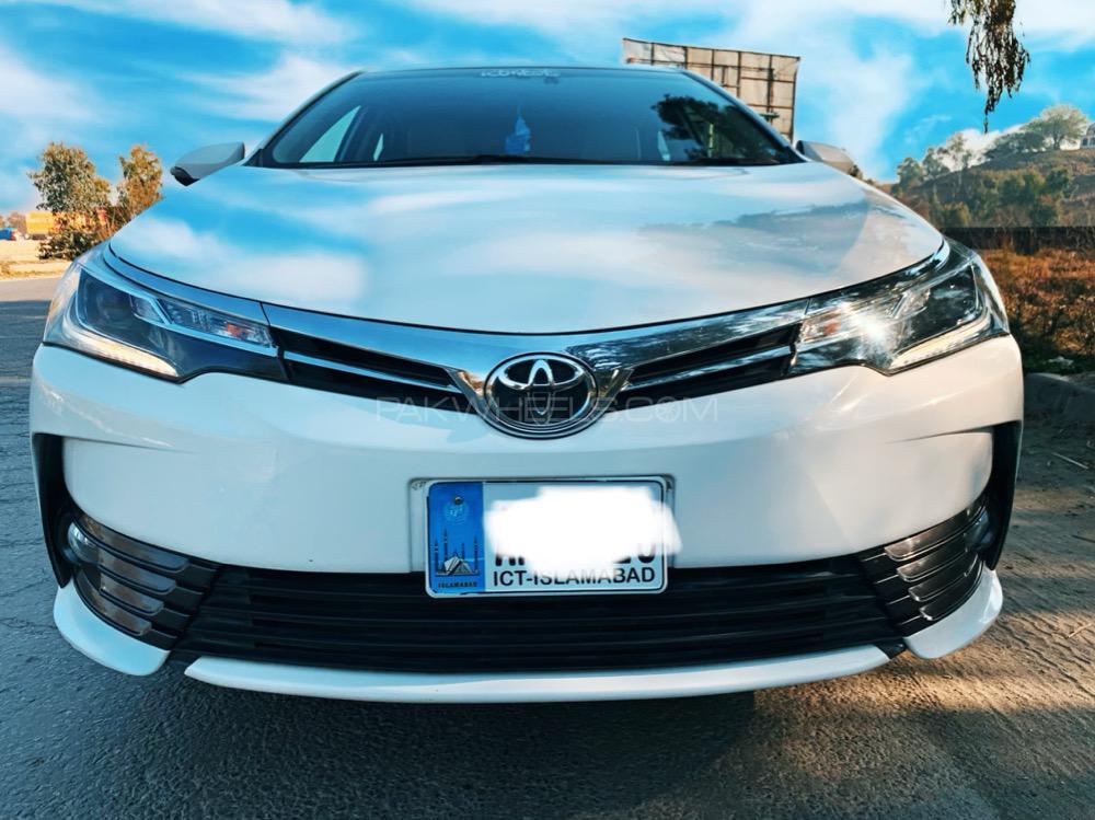 Toyota Corolla Altis Grande CVT-i 1.8 2018 Image-1