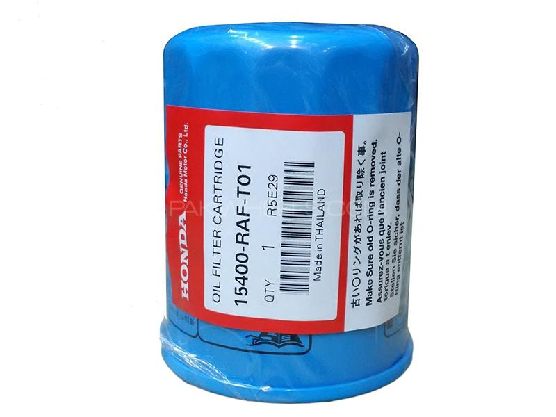 Honda Genuine Oil Filter For Honda Accord 2002-2006 15400-RAF-T01 Image-1