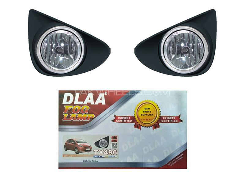 DLAA Fog Lights For Toyota Vitz 2012-2015 - TY496 Image-1