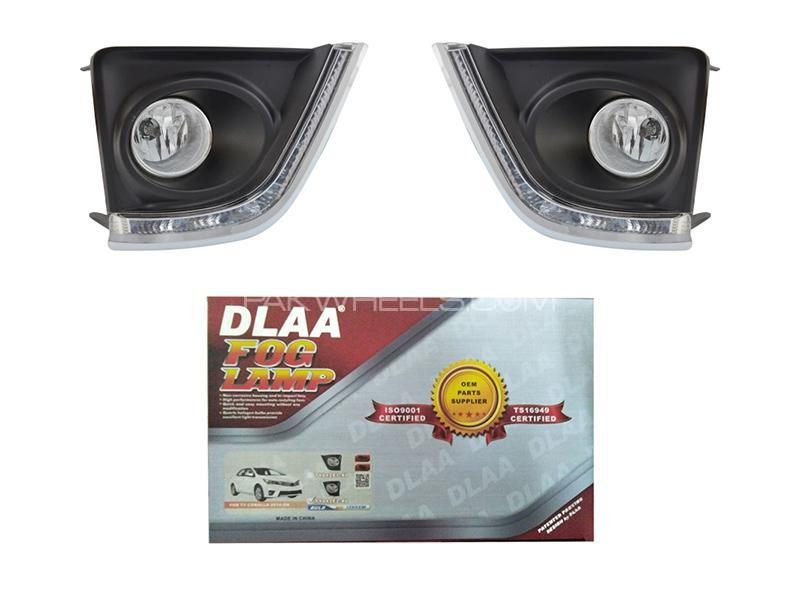 DLAA Fog Lights Cover For Toyota Corolla 2014-2016 - TY477L2 Image-1