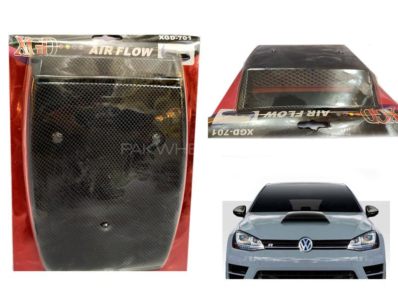 Universal Hood Scoop Vent for Bonnet Carbon Small in Lahore