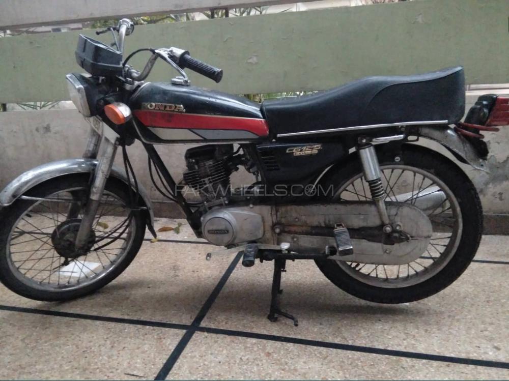 Honda CG 125 - 1991  Image-1