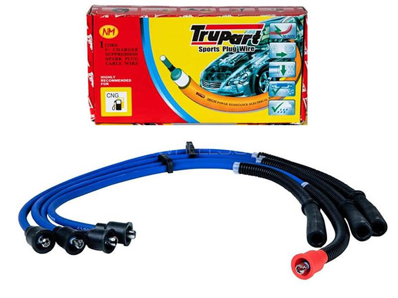 Trupart Sports Plug Wire For Daihatsu Cuore Old - PW-114 5mm Image-1