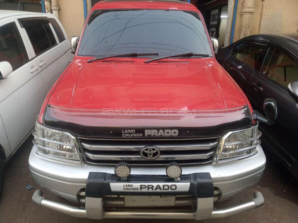 Toyota Prado RZ 3.4 (3-Door) 1996 Image-1