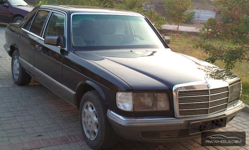Mercedes benz s class s280 1981 for sale in rawalpindi for Mercedes benz s280 for sale
