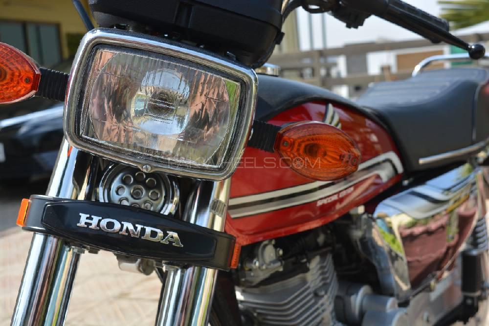 Honda CG 125 Special Edition 2019 Image-1
