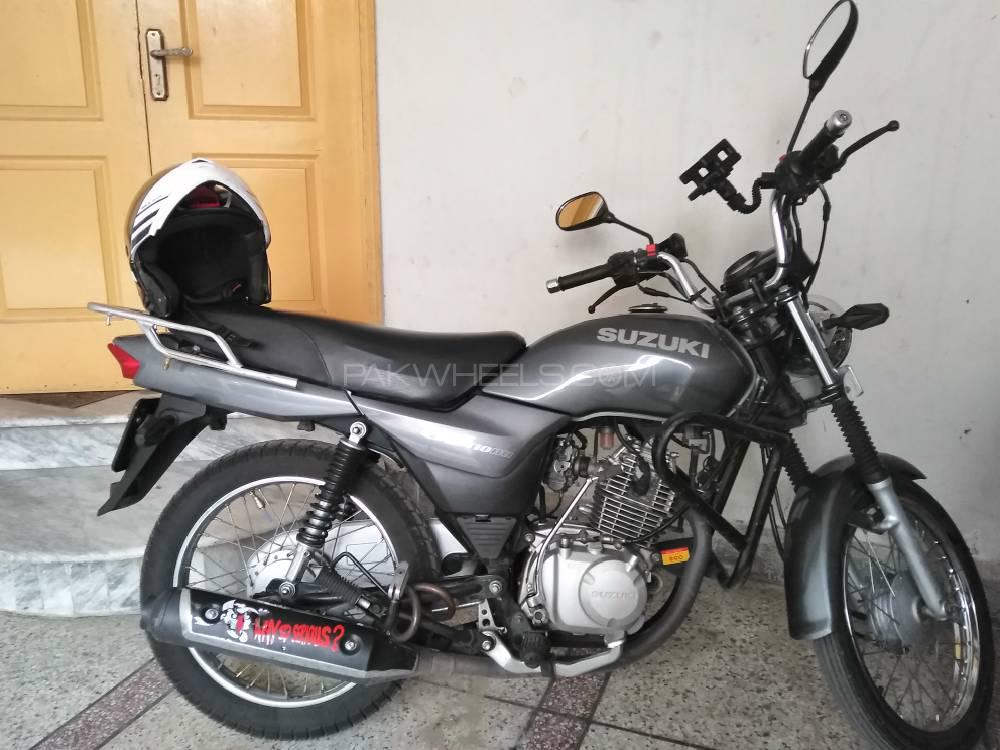 Suzuki GD 110 - 2014  Image-1