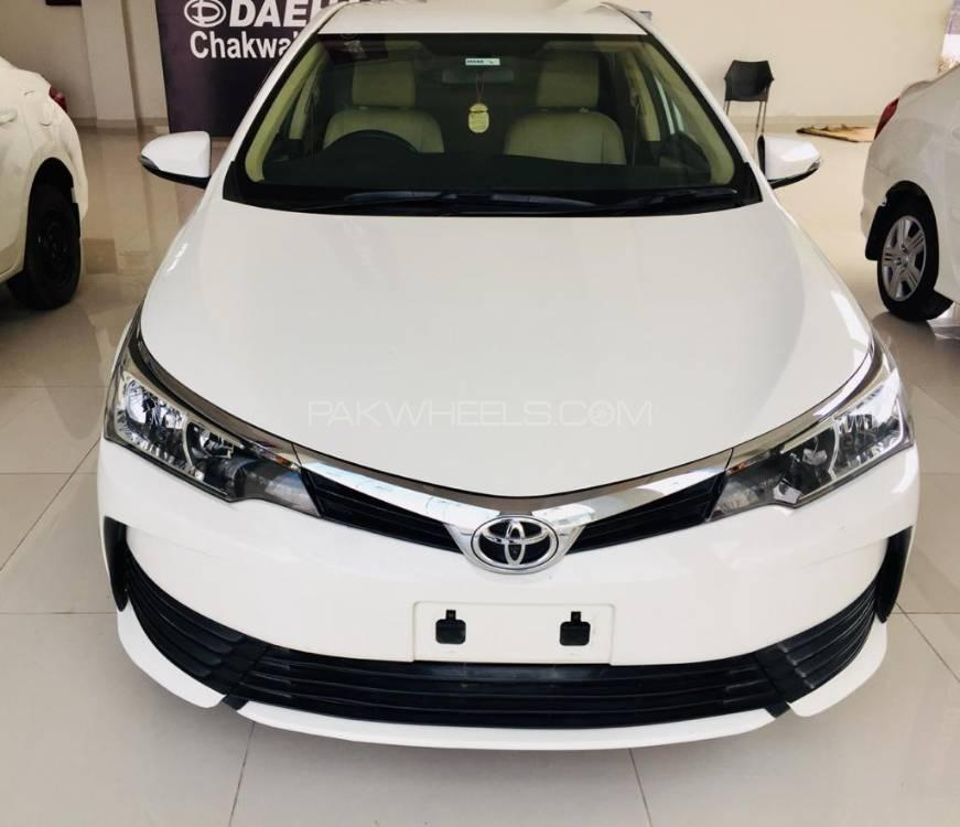 Toyota Corolla XLi VVTi 2018 for sale in Chakwal | PakWheels