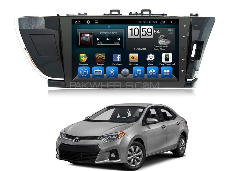 Android Tab Head Unit For Toyota Corolla 2014-2019 Image-1