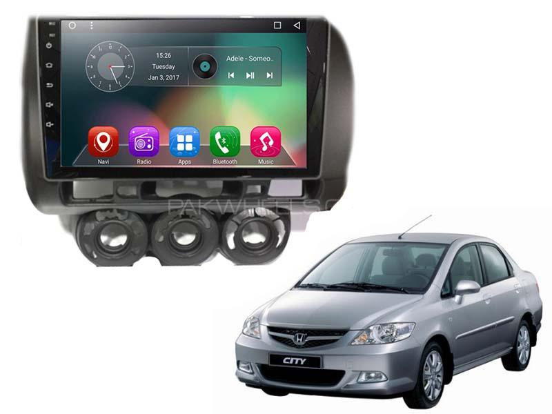 Honda City IPS Android Panel For 2003-2008 Image-1