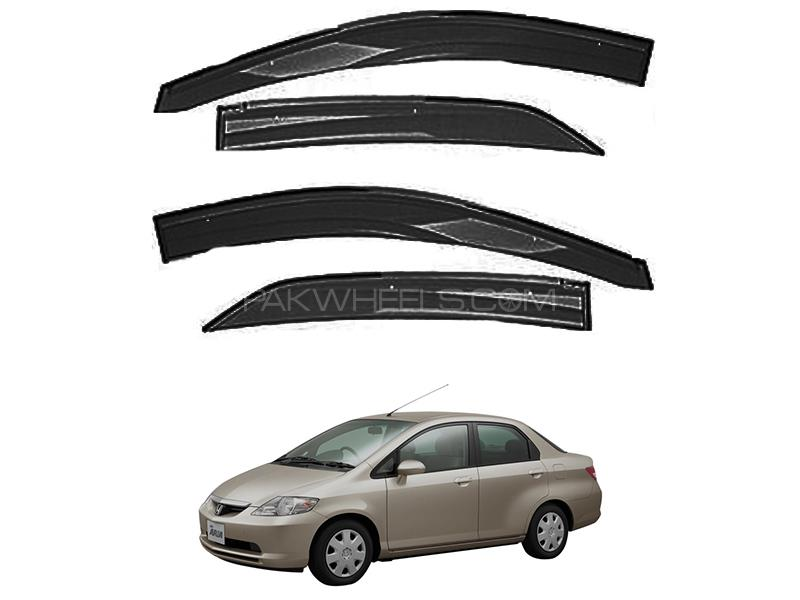 Honda City 2004-2008 Sun Visor Air Press - Black  in Karachi
