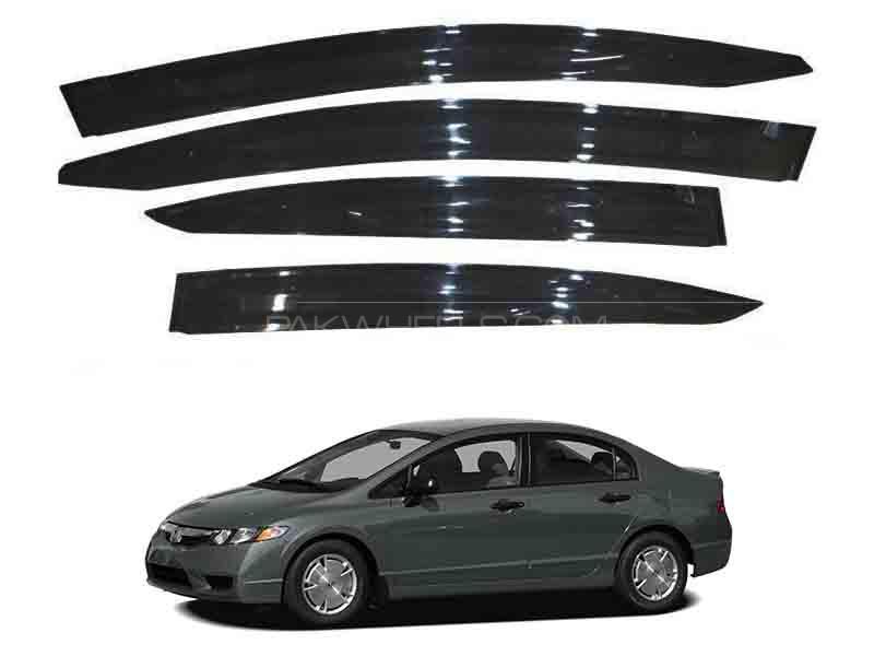 Honda Civic 2007-2012 Sun Visor Air Press - Black  Image-1