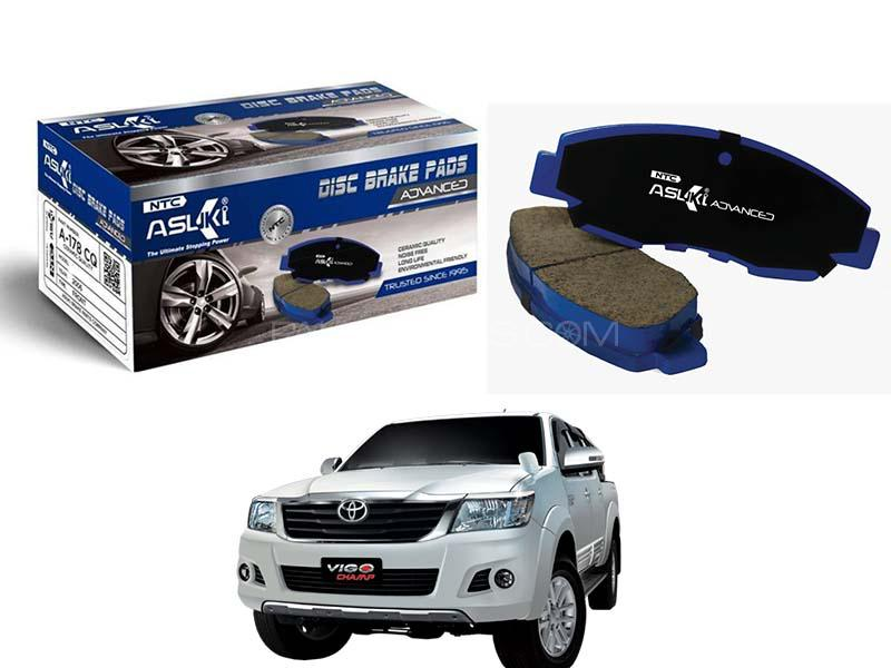 Toyota Vigo 4x4 Thailand 2002-2005 Asuki Advanced Brake Pads Front - A-219B AD in Karachi