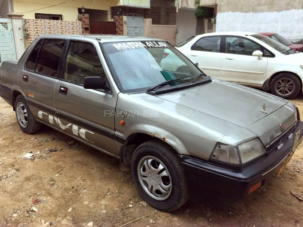 Honda Civic - 1987  Image-1