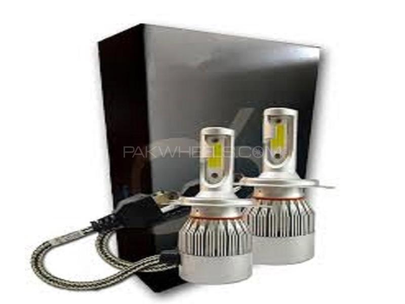 C6 LED For Headlight - 9006 Image-1