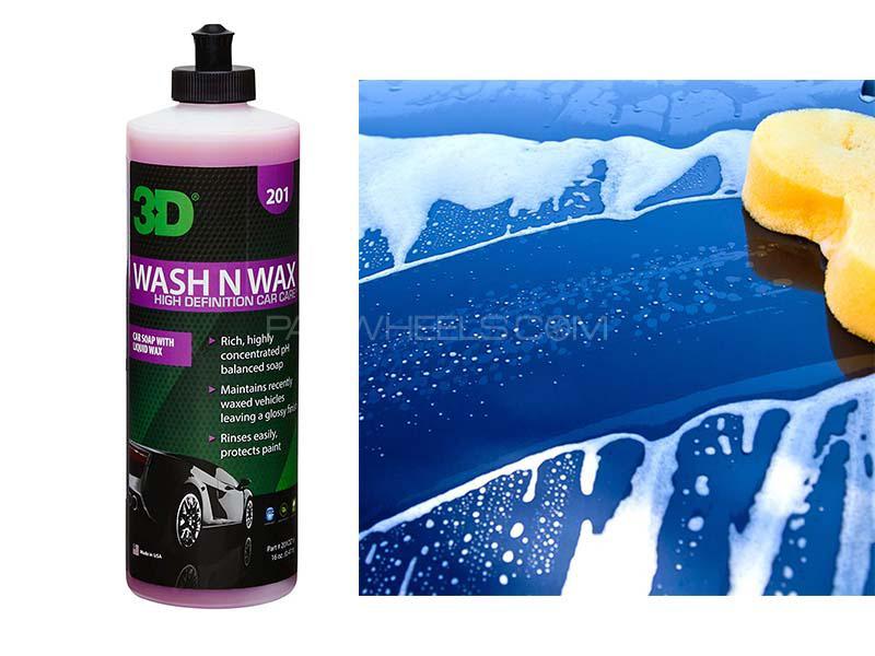 3D Wash N Wax - 16oz Image-1