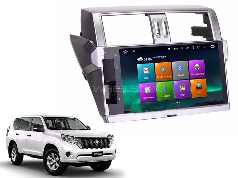 Premier Toyota Prado Deck Less Android Unit 2014-2015 in Lahore