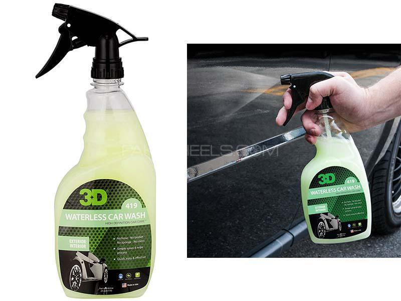 3D Green Waterless Car Wash - 24oz Image-1