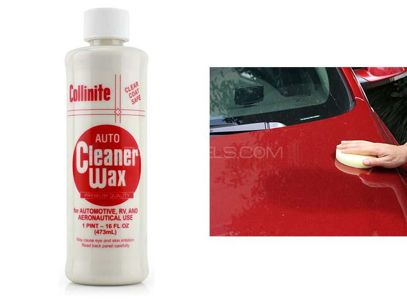 Collinite 325 Auto Cleaner Wax 16oz Image-1