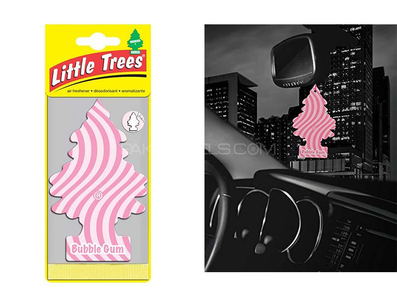Little Trees Bubble Gum Hanging Car Air Freshener Image-1