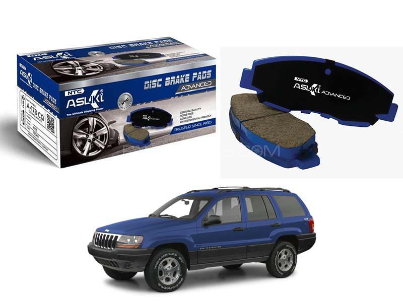 Asuki Advanced Rear Brake Pad For Jeep Grand Cherokee 1987-2002 - A-8165M AD in Karachi