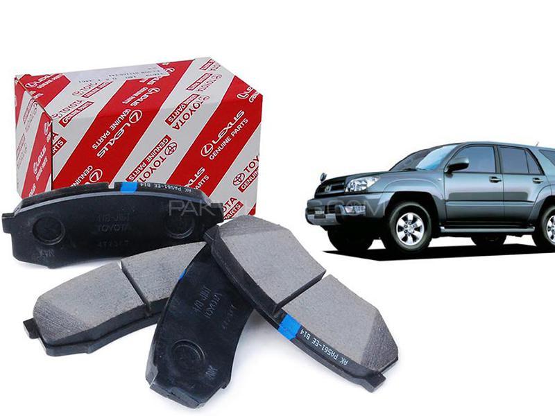 Toyota Genuine Front Brake Pad For Toyota Surf 2002-2009 04465-YZZQ6 in Karachi