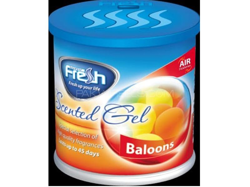 Fresh Scented Gel Perfume - Balloons - Made In Bulgaria Image-1