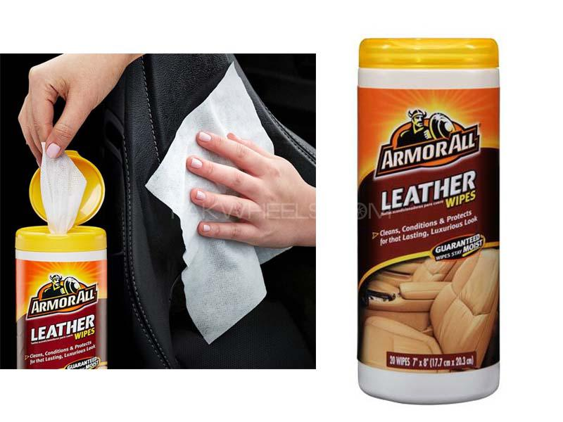 ArmorAll Leather Wipes  Image-1
