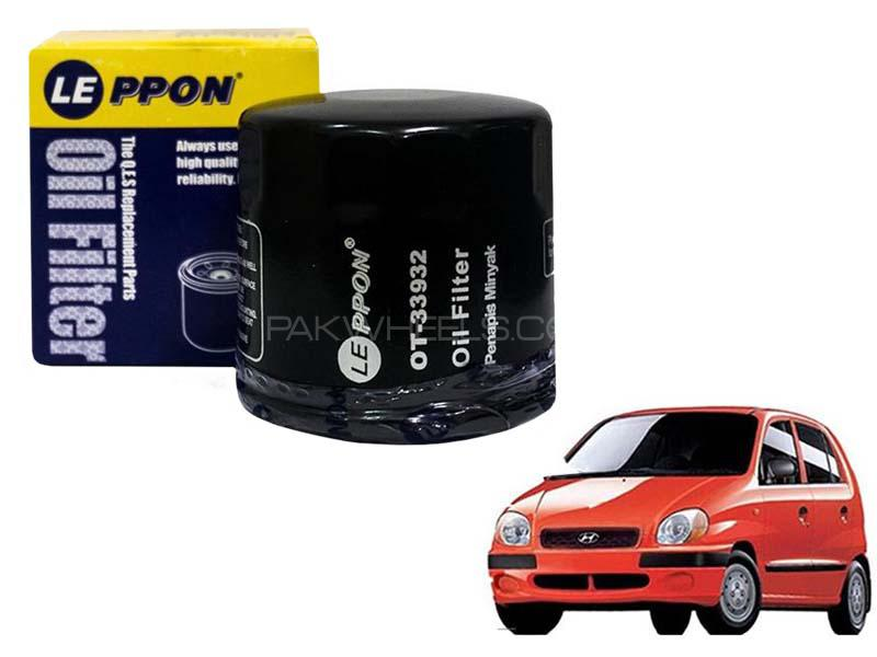 Leppon Oil Filter For Hyundai Santro Club 2003-2014 in Karachi