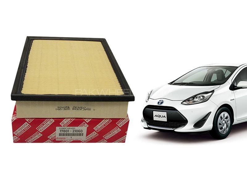 Toyota Aqua Genuine Air Filter For 2012-2020 - 17801-21060 in Karachi