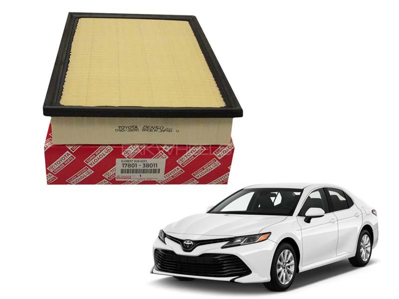 Toyota Genuine Air Filter For Toyota Camry 2018-2020 - 17801-38011 Image-1