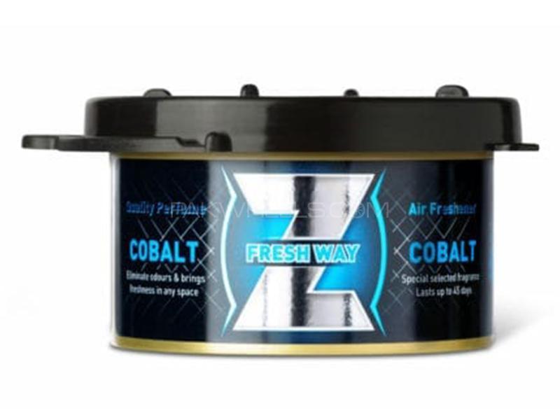 FreshWay Z Gel Perfume - Cobalt - Made In Bulgaria Image-1