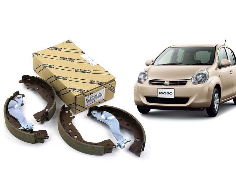 Toyota Passo Genuine Rear Brake Shoe For 2004-2012 04495-B1080 in Karachi