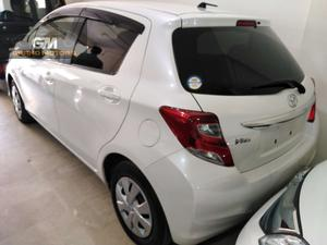 TOYOTA VITZ MODEL 2016 UNREGISTER MILEAGE 36000 COLOR PEARL WHITE FULL ORIGINAL LOOK LIKE NEW
