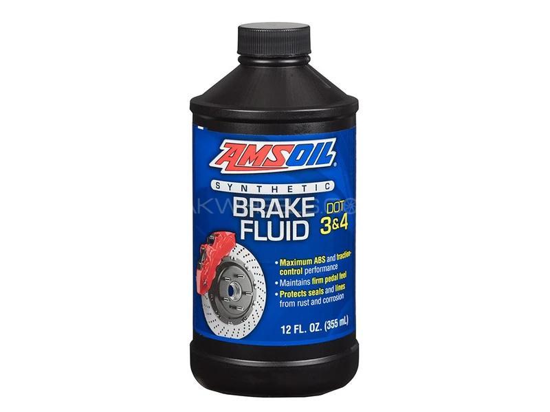 Amsoil Dot 3 Brake Fluid 355ml Image-1