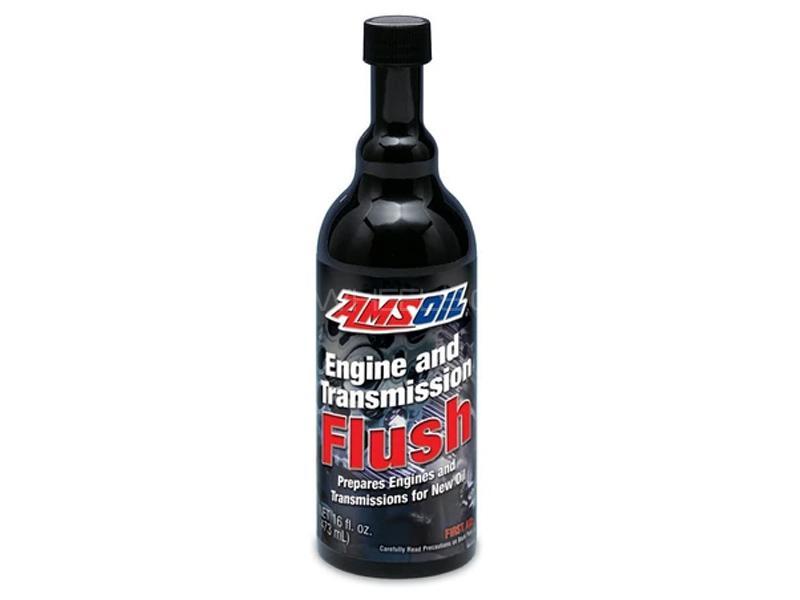 Amsoil Engine And Transmission Flush 473ml Image-1