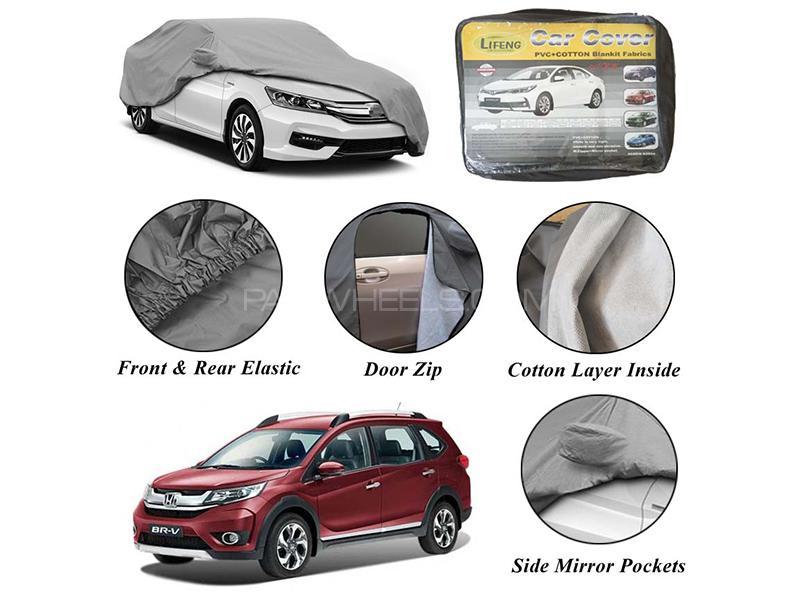 Honda BRV 2017-2020 Non Wooven Inner Cotton Layer Car Top Cover  in Karachi