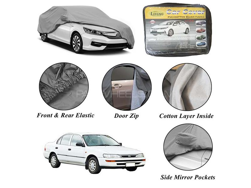 Toyota Corolla 1994-2002 Non Wooven Inner Cotton Layer Car Top Cover  in Karachi