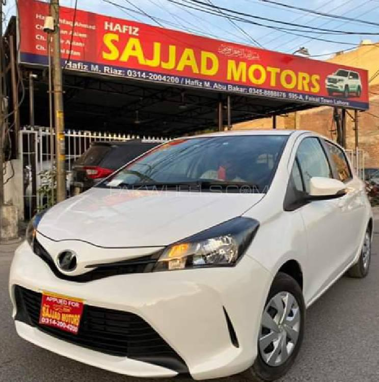 Toyota Vitz F Intelligent Package 1.0 2016 Image-1